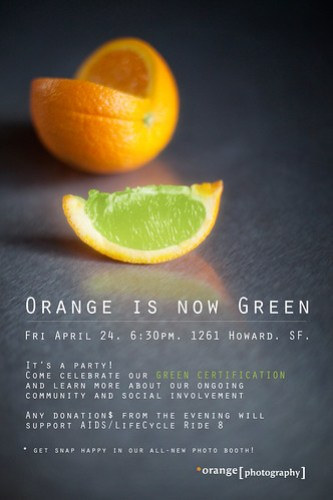 Orange is now Green!