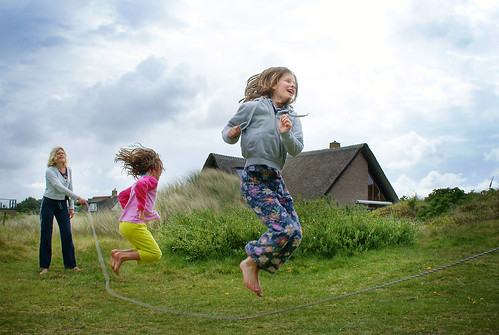 Jump rope, Ameland, The Netherlands