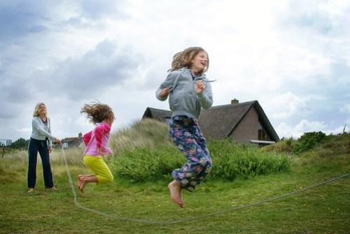 Jump rope, Ameland, The Netherlands