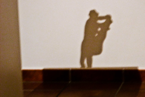 Shadow of Rodin's 'Pas de Deux'