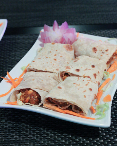 Chicken Kathi Roll at Legend of India