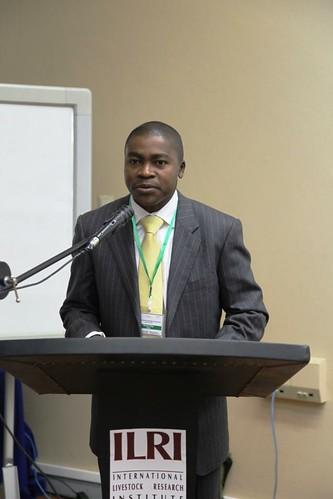 Edmond Wega - CIDA Director for Ethiopia at the welcoming session