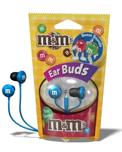 m&m stereo Ear Buds