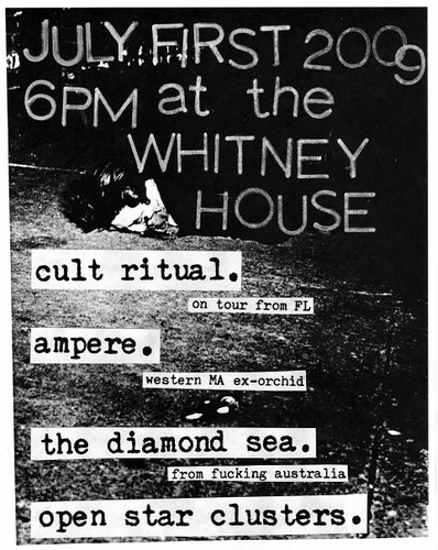 Cult Ritual/Ampere @ Whitney House, July 1st