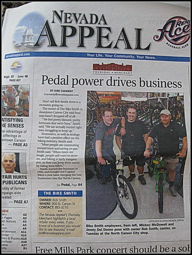 Pedal Power Drives Business