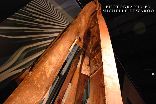 one of the beams recovered from Ground Zero.