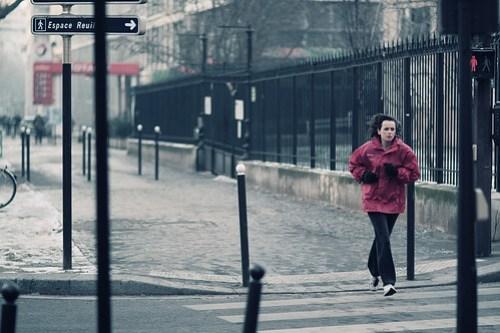 Corriendo, corriendo.