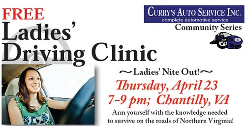 Northern Virginia Womens Driving Class - Ladies Driving Clinic
