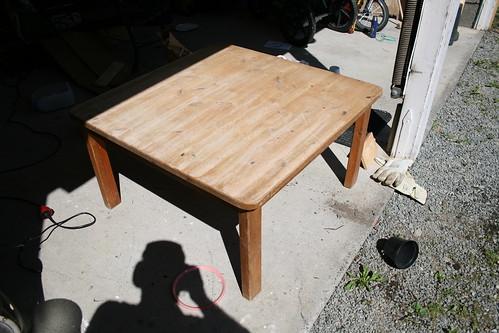 Honey Table Step 1