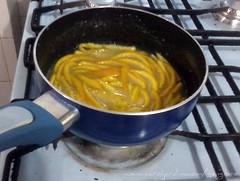 67. Cascas de tangerina cristalizadas