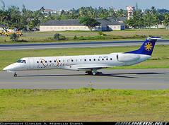 ERJ-145 nas cores da Rio-Sul