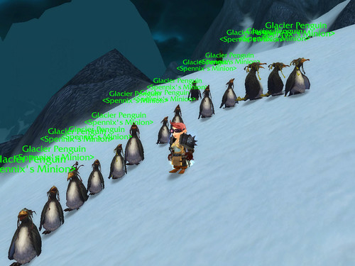 Spennix's Penguin Army!