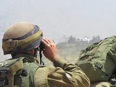 IDF Soldiers Prepare Near Israeli-Syrian Border