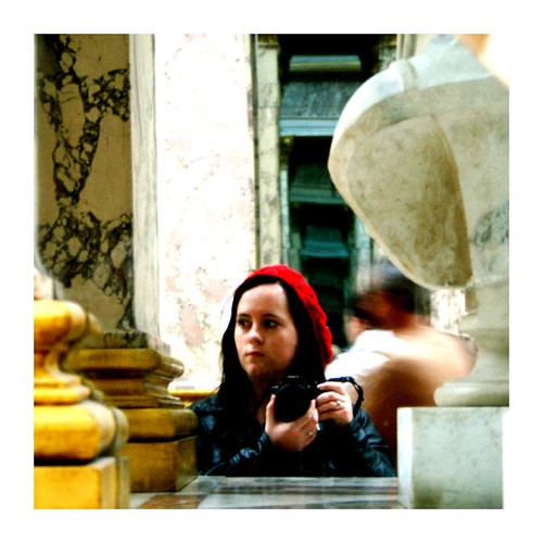 Me in the LoLo-Louvre