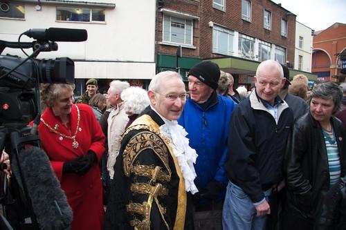 Mayor Derek Capey
