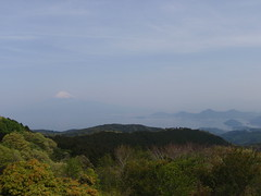 Izu mountains peak hunting trail run