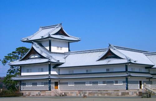 Castillo de Kanazawa.