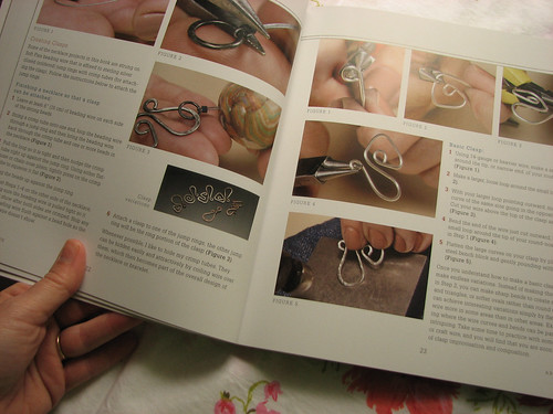 Making your own clasps with wire