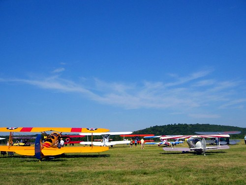 2009 Bartlesville Biplane Expo.