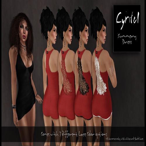 [ Cynful ] Summery Dress
