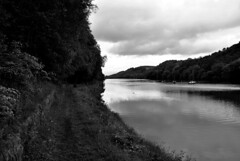 Rudyard Lake in Black and White