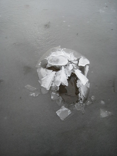 It looks like a Hulk/skull mask made of ice