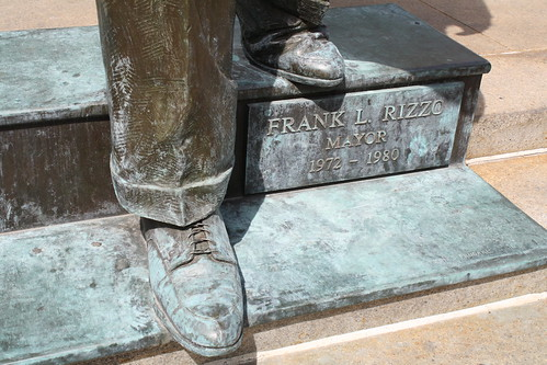 Old Frank could use a shoe shine