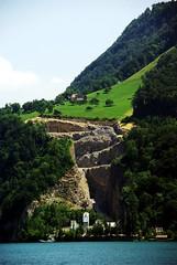 quarry on Lake Luzern