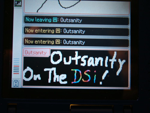 Outsanity On The DSi