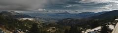 El valle del Guadalhorce desde la Sierra de la...