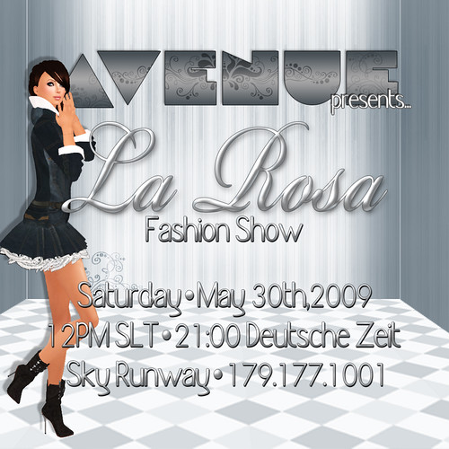 LaRosa Fashion Show - 30 May 12pm SLT