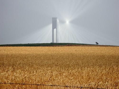 Central Torre Termoelectrica Termosolar Solucar Sevilla