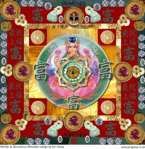 Lakshmi Mandala of Wealth and Abundance