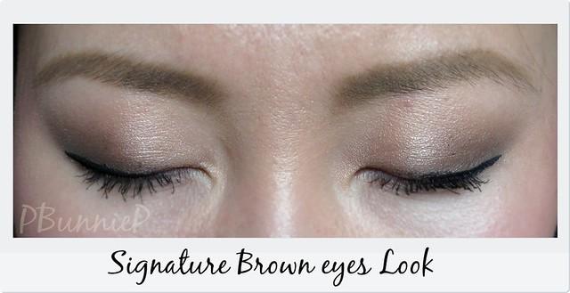 Signature Brown-Eyes look