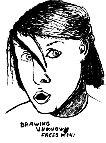 Drawing Unknown Faces, part 141-b