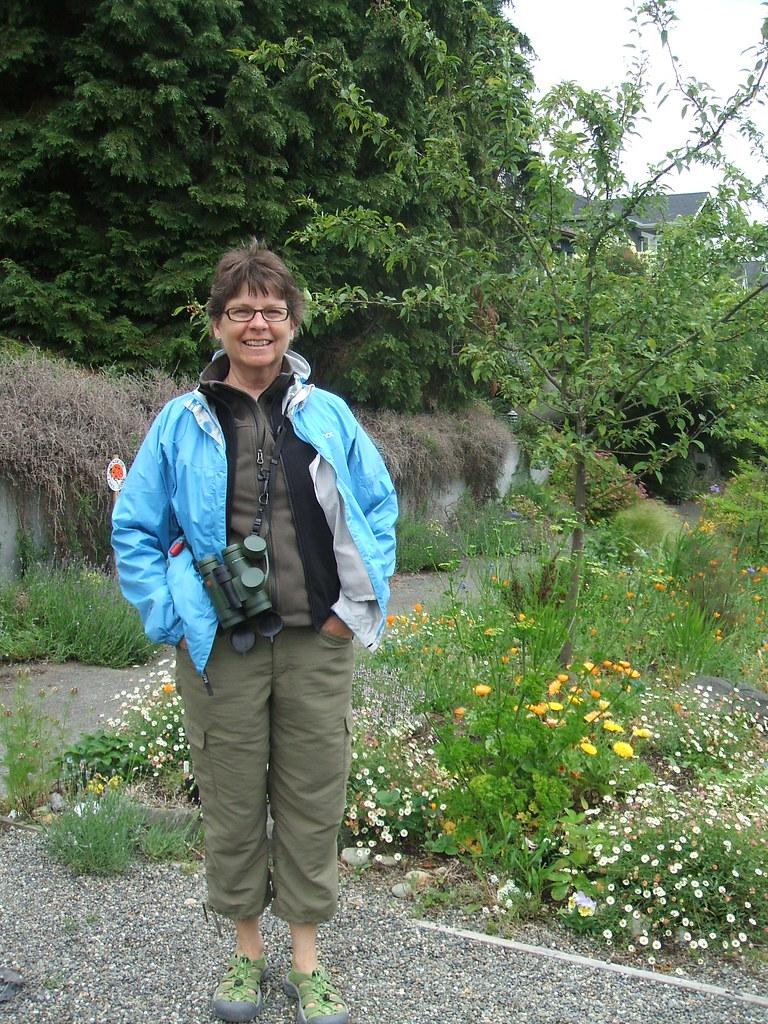 Susan T. in my garden