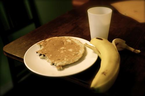 breakfast before.