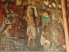 Diego Rivera murals, National Palace in Mexico City