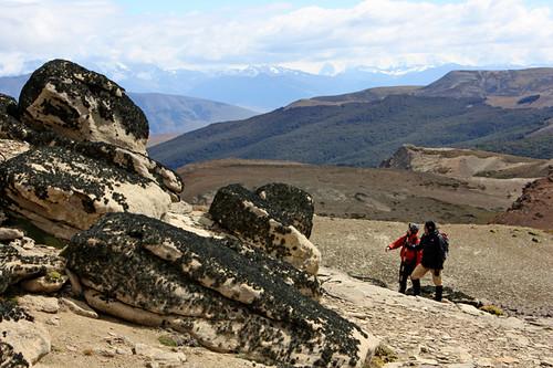 On top of Cerro Cazador (© 2009 clasticdetritus.com)