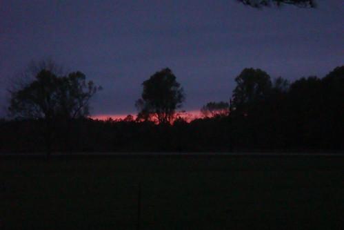 Sunset - April 1st