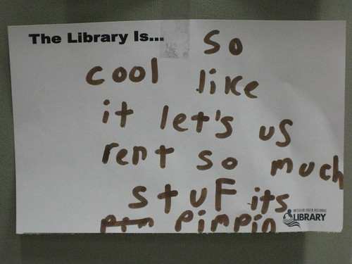 The Library is...
