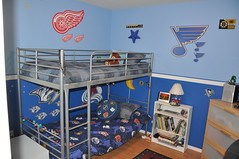 Blaues Kinderzimmer-soon Office
