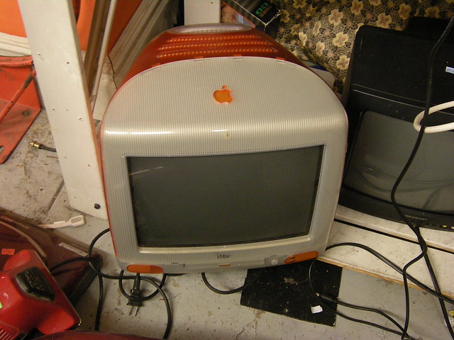 Orange iMac