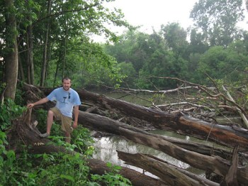 Hiking around the Huron River