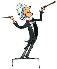 Conductor illustration