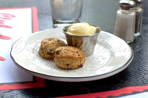 Scones with Honey Butter
