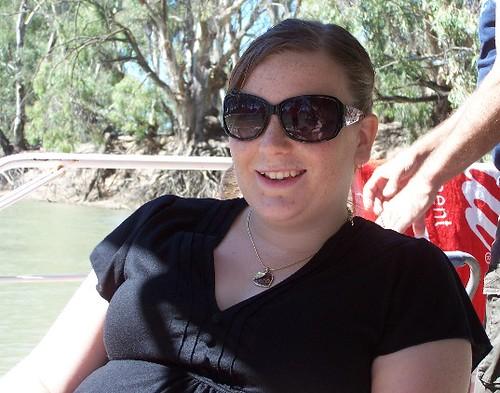 Elise - also enjoying the day