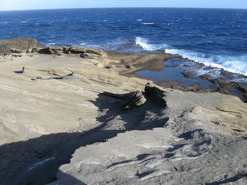 Coastal Oahu rock formations █