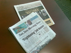 From the San Jose Mercury News: 'Frightening' job losses.