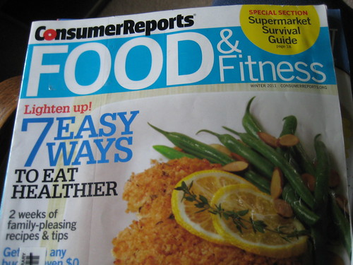 Consumer Reports Food and Fitness